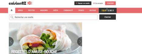 Cuisine az - Les meilleurs sites de recettes de cuisine ...