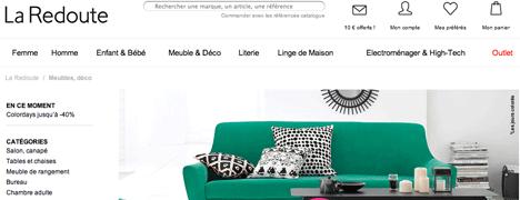 la redoute linge de maison. Black Bedroom Furniture Sets. Home Design Ideas